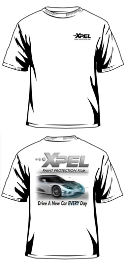 "XPEL ""Drive a New Car Everyday"" T-Shirt (XL)"