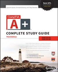 CompTIA A+ Complete Study Guide: Exams 220-901 and 220-902, 3rd Edition