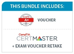 Save 45% on the CompTIA A+ Deluxe Bundle