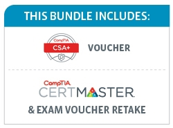 Save 48% on the CompTIA CSA+ Deluxe Bundle