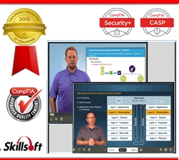 Security Path Bundle - CompTIA Security+ (SY0-401) and CASP (CAS-002): Complete eLearning Courseware, Practice Exam, and Live Mentoring