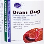 Drain Bug-Bacterial Enzyme Treatement