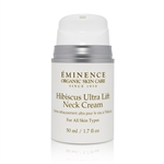 Eminence Hibiscus Ultra Lift Neck Cream, Organic Skin Care, All Natural Skin Care, Herbal Eye Contour
