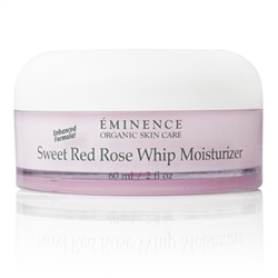Healthy Facial Care Sweet Red Rose Whip Moisturizer, Organic Skin Care, All Natural Skin Care, Sweet Red Rose Whip Moisturizer