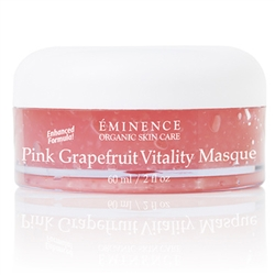 Healthy Facial Care Pink Grapefruit Vitality Masque, Organic Skin Care, All Natural Skin Care, Pink Grapefruit Vitality Masque