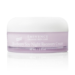 Eminence Organic Skin Care,Pevonia, All Natural Skin Care, Blueberry Soy Night Recovery