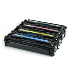 Premiun Compatible HP CF410X, CF411X, CF412X, CF413X (410X) Color Laser Toner Cartridge