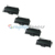Premium Compatible MLT-D105L Black Laser Toner Cartridge For Samsung 105L (Pack of 4)