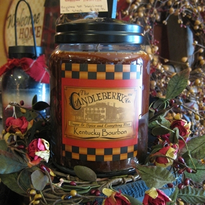 Kentucky Bourbon Candleberry Candle Lg