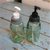 Small Mason Jar Soap Pumper