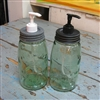 Large Mason Jar Soap Pumper