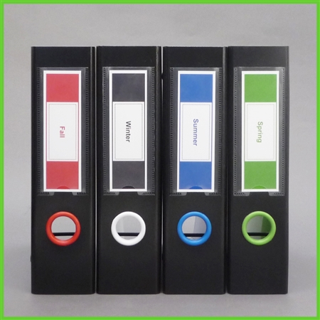 Box Design Label Template Set 1 Red White Sapphire Blue Lime Green – Binder Spine Template