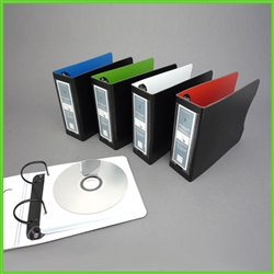 CD Binder and Sleeve Set for up to 96 CD's