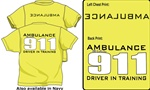 Ambulance Driver In Training Kids T-Shirt