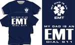 My Dad Is An EMT Kids T-Shirt