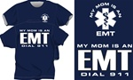 My Mom Is An EMT Kids T-Shirt