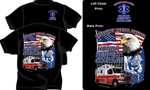 Honor Respect Courage EMS T-Shirt