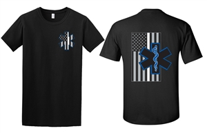 EMS Thin White Line T-Shirt