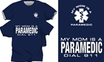 My Mom Is A Paramedic Kids T-Shirt