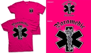 Paramedic Chrome T-Shirt T-Shirt
