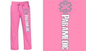 Paramedic Pink Duty Sweatpants
