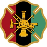African Firefighter Maltese Decal