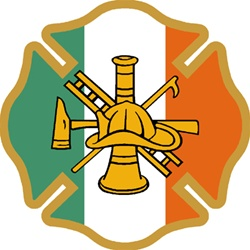 Irish Firefighter Maltese Decal