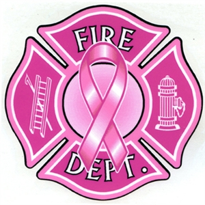 Pink Ribbon Maltese Decal