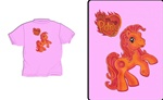 My Fire Pony Kids T-Shirt