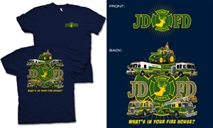JDFD Firefighter Kids T-Shirt