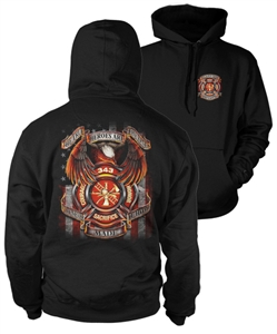 True Hero Firefighter Hoody