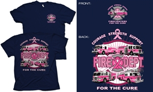 Fire Dept. For The Cure T-Shirt