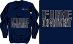 Firefighter Reflective Crewneck Sweatshirt