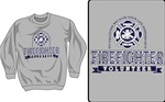 Firefighter Pride and Valor Crewneck Sweatshirt