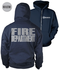 Firefighter Reflective Zip-Up