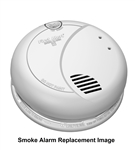 BRK Electronics First Alert 2839N 120V AC Hardwired Photoelectric Smoke Alarm, No Battery Back Up