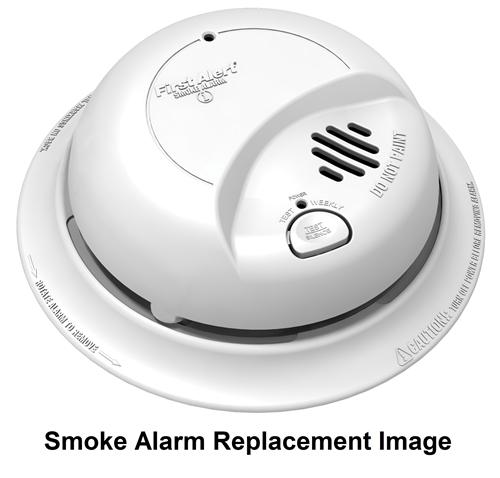 BRK Electronics First Alert 769AC 120V AC Hardwire Ionization Smoke ...