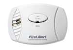BRK Electronics First Alert CO605B 120V AC/DC Plug-in with 2 AA Batteries Backup Electrochemical Carbon Monoxide (CO) Alarm
