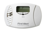 BRK Electronics First Alert CO615B 120V AC/DC Plug-in with 2 AA Batteries Backup Electrochemical Carbon Monoxide (CO) Alarm with Digital Display