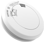 BRK Electronics First Alert PRC710VB Low Profile 10 Year Sealed Battery Operated Lithium Power Tamperproof Photoelectric Smoke and Carbon Monoxide Combo Alarm with Voice