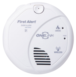 brk electronics first alert sa511b onelink wireless battery smoke alarm with. Black Bedroom Furniture Sets. Home Design Ideas