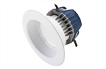 "CREE Lighting CR4-575L-35K-12-E26 4"" LED Downlight, 3500K Color Temperature, 575 lumens, 120V, E26 Base, True White"