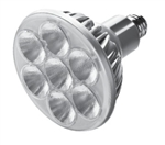 CREE Lighting LRP-38-10L-27K-25D-GU24 13.5W LED PAR38 GU24 Base, 1000 lumens, 2700K ColorTemp, 25 Degree Narrow Flood
