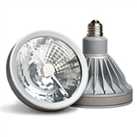 CREE Lighting LRP-38A92-20D40 12W LED PAR38 E26 Standard Base, 600 lumens, 20 Degree Narrow Flood
