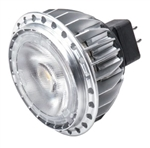 Cree Lighting MR16-50W-30K-25D 12V 8.7W MR16 LED Bulbs, Flood Beam Spread