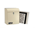 Fantech DM 3000P Duct mounted HEPA Filtration System, 240 cfm with built-in pressure switch for automatic activation