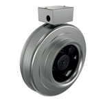 Fantech FG 6M EC Inline Round Centrifugal Fan with EC Motor Metal Housing 364 CFM, 6 inch Round Duct
