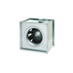 Fantech FSD18 Inline Square Centrifugal Fan, Galvanized Steel Housing 2463 CFM, 18 inch Square Duct