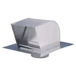 "Fantech RC6 Roof Cap 6"" Round Duct (Galvanized Steel)"