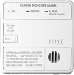 Firex 6045 (COQ) Carbon Monoxide Alarm, AC Powered with Battery Back-up